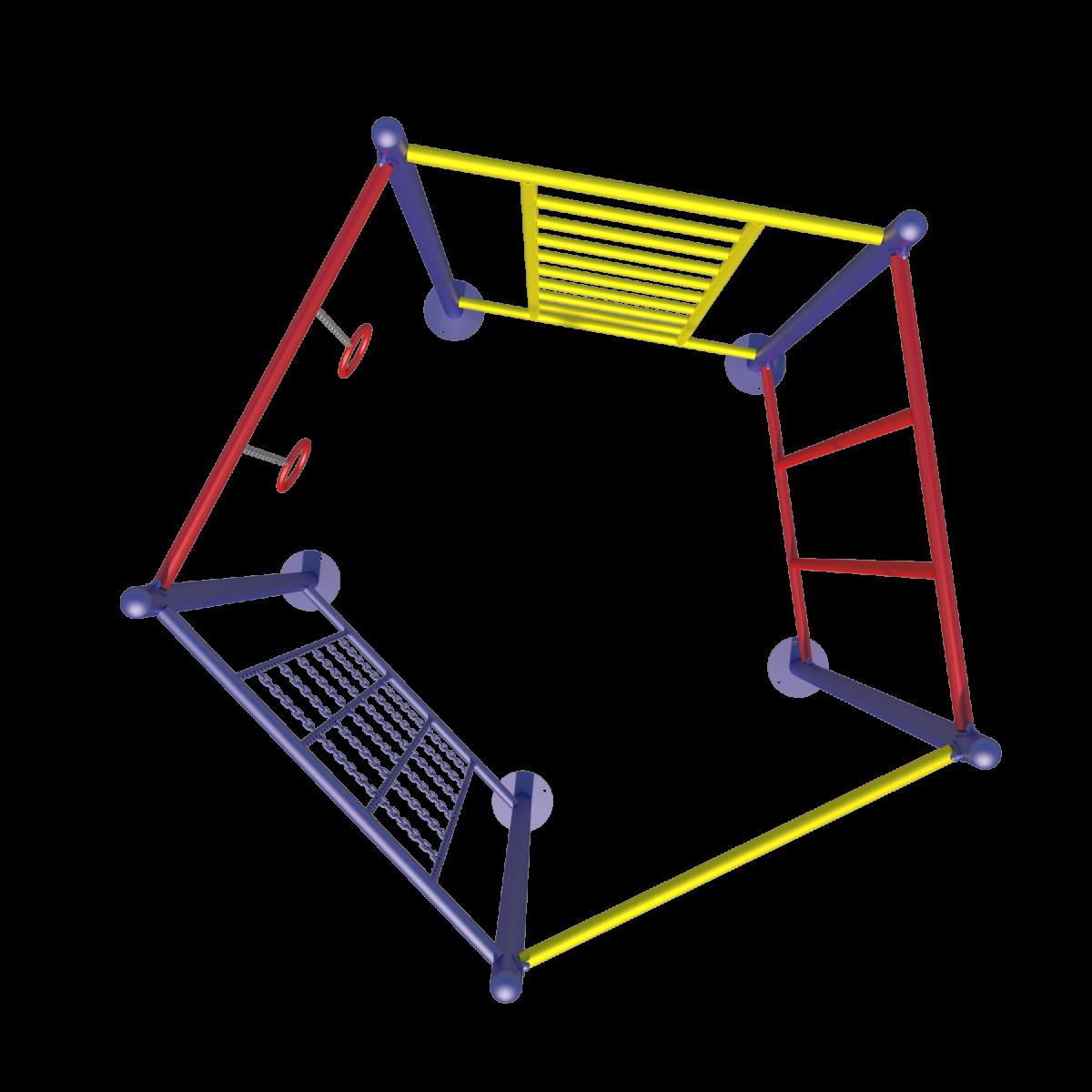 Детский спортивный комплекс СК 08