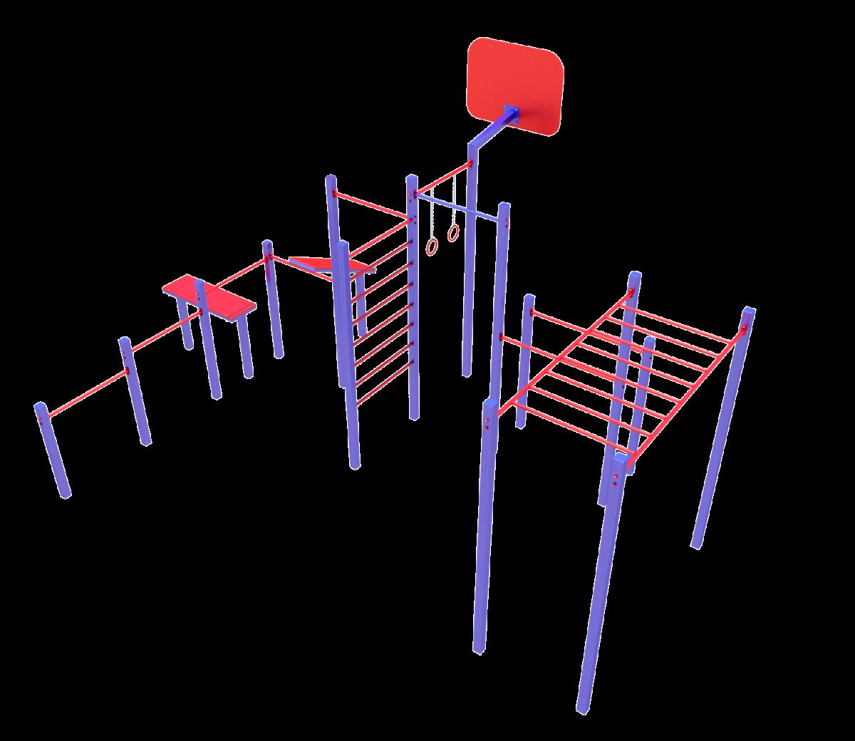 Детский спортивный комплекс СК 06