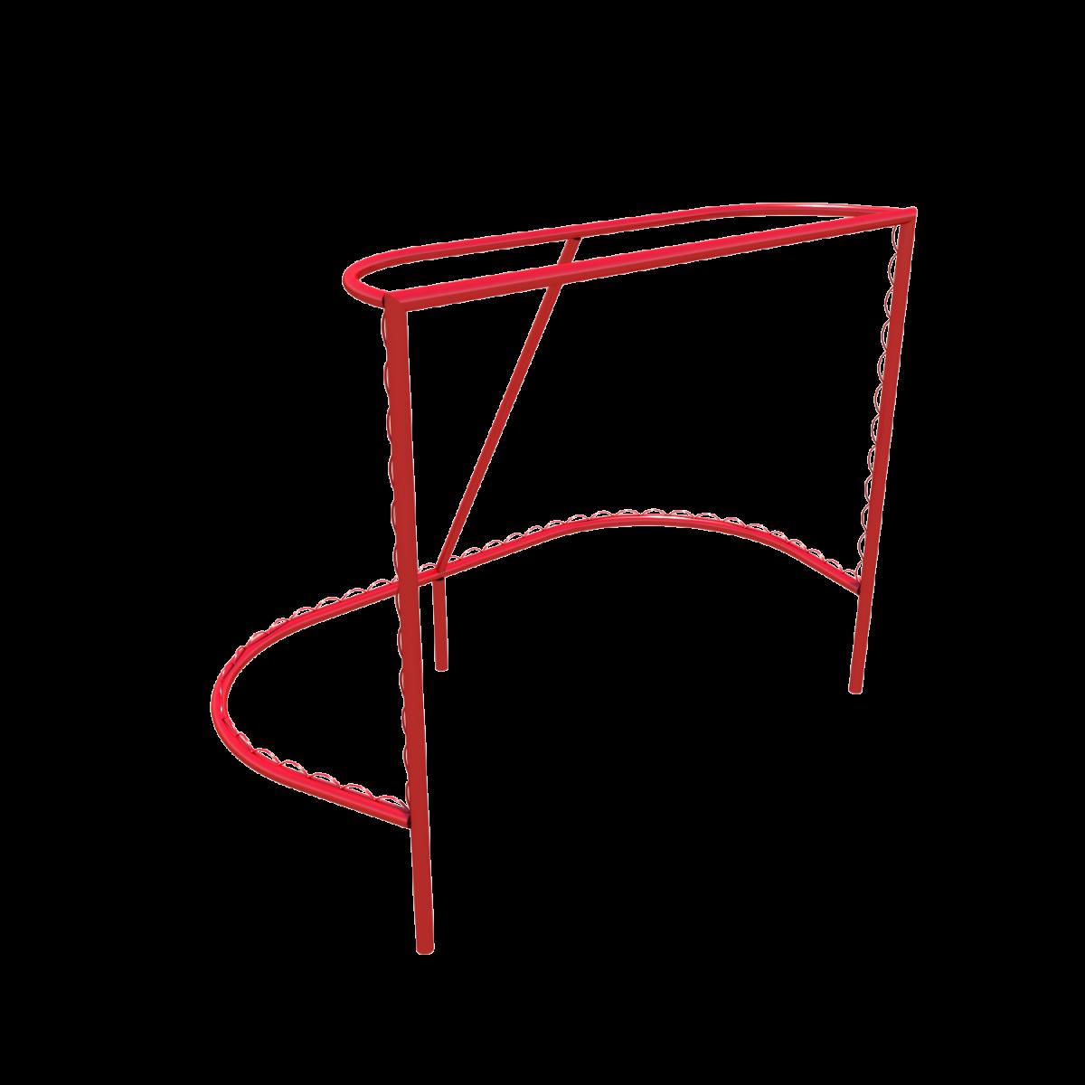 Спортивное оборудование «Стойки хоккейные с сеткой»