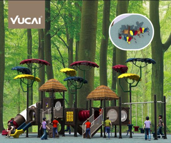Игровой комплекс Yucai 2018DZR-C002