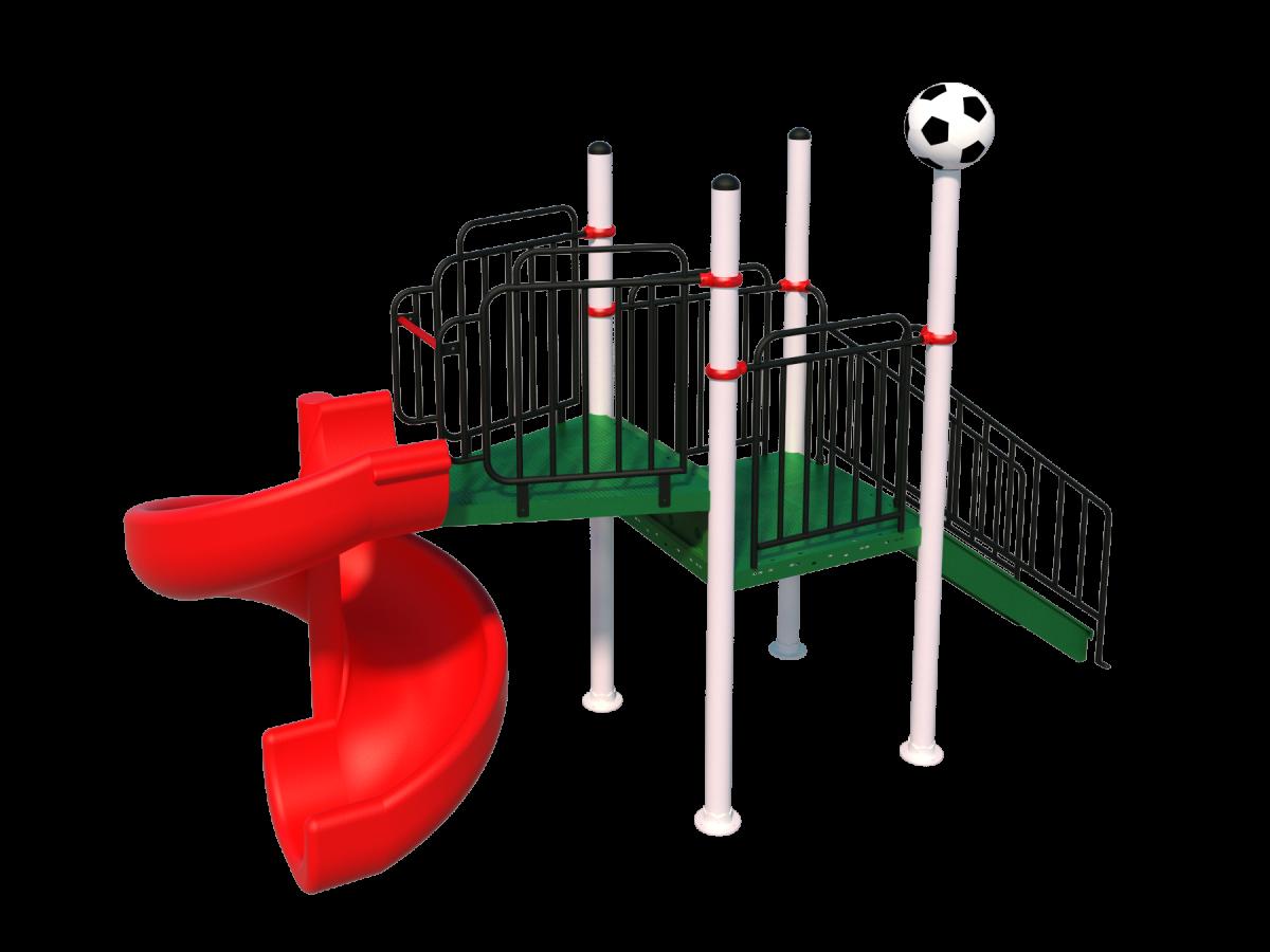 Игровой комплекс ИК-10 с одним скатом