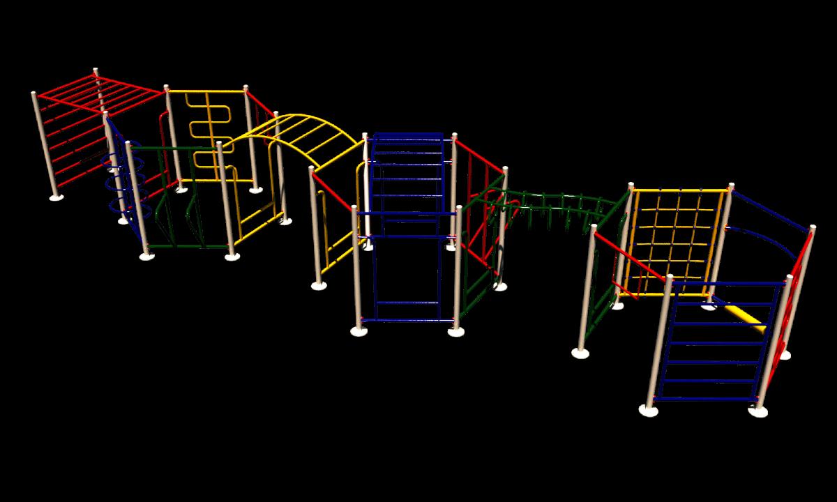 Детский спортивный комплекс СК 14